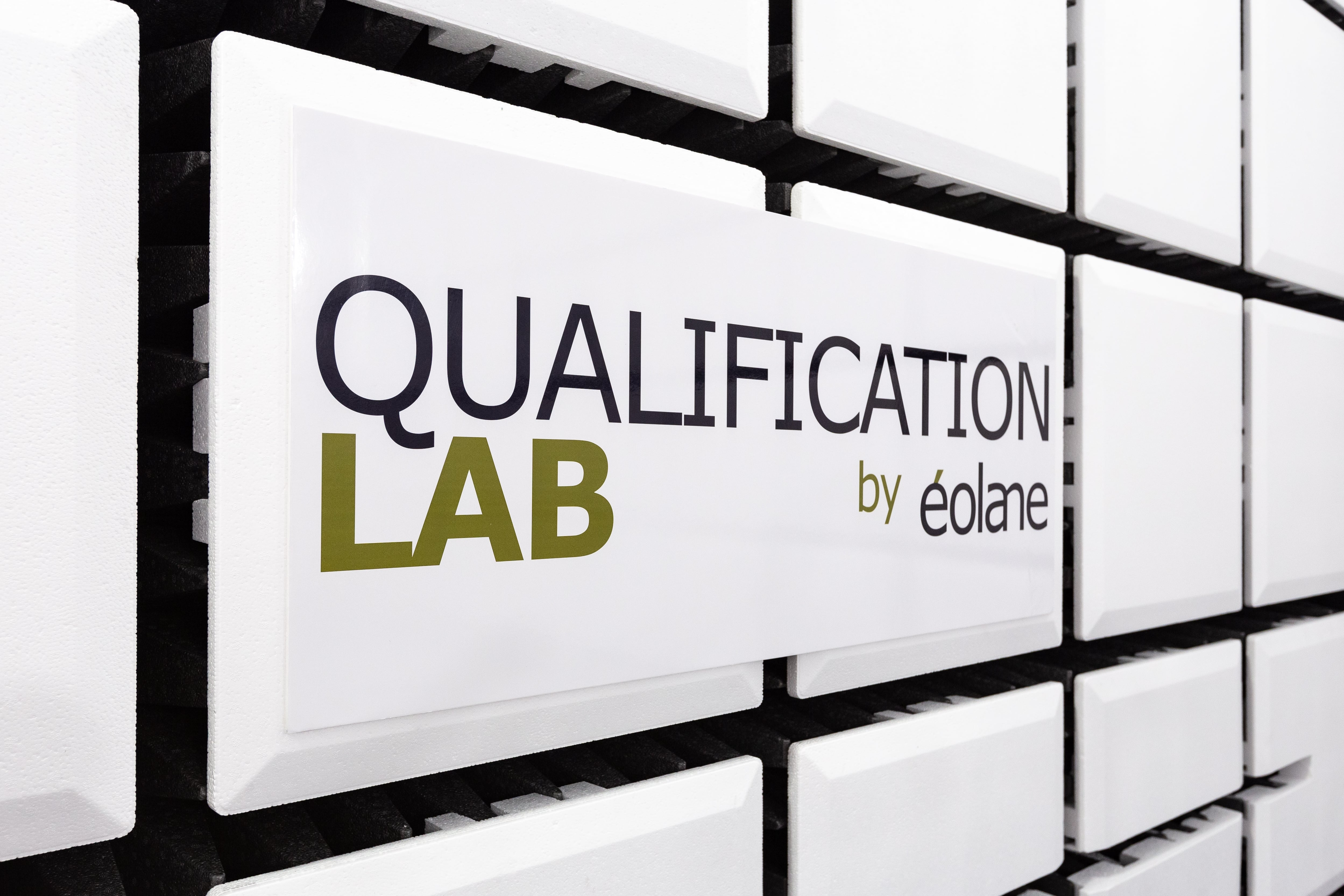 Photo Logo Qualification Lab by éolane